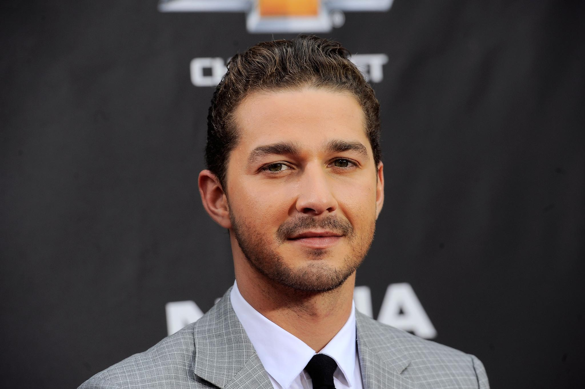 Is Brad Pitt Helping Shia Labeouf Stay Away From Alcohol